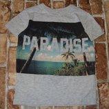 футболка 5-6лет Марк Спенсер сток большой выбор оджежды 1-16лет