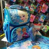 Школьный комплект Холодное сердце Эльза. Школьный рюкзак. Канцтовары
