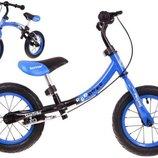 Детский беговой велосипед Бумеранг WB-06V Польша. Н.