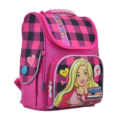 f314aace4350 Школьный рюкзак ранец портфель каркасный для девочки в школу ортопед спинка  H-11 Barbie red
