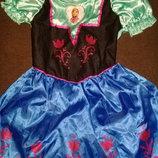 Карнавальное платье Анна из холодного сердца на 3-4года.