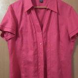 Блуза Cotton TU, 100% лен, размер 14