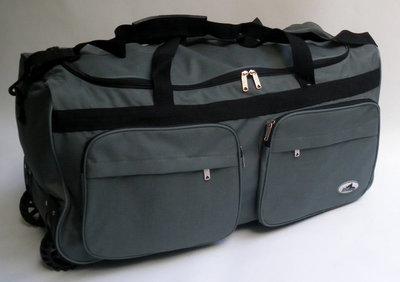 9cb4280ba38f Дорожная - спортивная сумка на колесах ,с выдвижной ручкой Rhino  небольшая-46 л