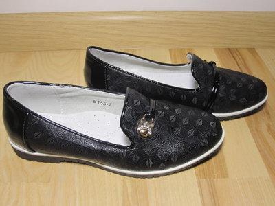Шкільні туфлі балетки на дівчинку W.niko Е155 1 р.33-37 туфли, балетки школьные на сменку