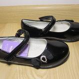 Шкільні туфлі балетки на дівчинку Tom.m 1425B р.26-31 туфли, балетки школьные на сменку