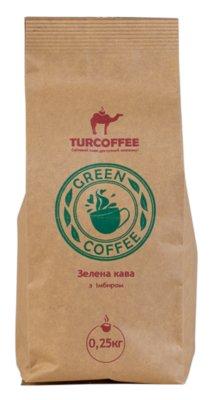 Кофе зеленый с имбирем, 0.25 кг