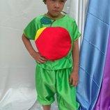 Костюм Яблока, детский карнавальный костюм Яблоко.