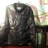 Муж.кожаная куртка,кож.-мягкая Ширина-134 см. Длина 82 см.размер-XXL.