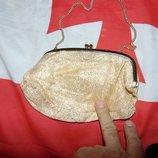 Стильная фирменная сумочка клатч бренд Next Некст