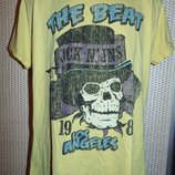 Стильная фирменная футболка бренд Jack&Jones . л-м