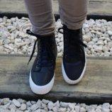 2 цвета Молодёжные демисезонные ботинки 36-41р