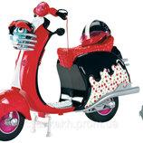 скутер куклы Монстр Хай Гулии Йелпс Monster High Mattel Сша оригинал клеймо