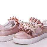 Слипоны/мокасины Clibee 8911В pink