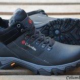 Мужские кожаные зимние ботинки Columbia