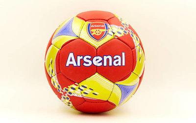 Мяч футбольный 5 гриппи Arsenal 6708 PVC, сшит вручную