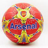 Мяч футбольный 5 гриппи Arsenal 6688 PVC, сшит вручную