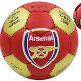 Мяч футбольный 5 гриппи Arsenal 0047A-454 PVC, сшит вручную