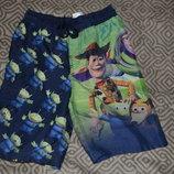 Пляжные шорты мальчику Disney на 7-8 лет рост 122-128 см