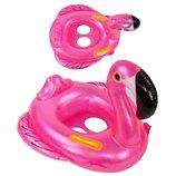 Детский надувной круг-плотик Фламинго C29086