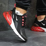Кроссовки Nike Air Max 270 black/red, Топ качество