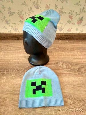 Вязаная шапка для мальчиков 46-50 размер