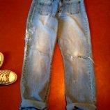 Джинсы мом mom момы Джинсы бойфренда Рваные джинсы бойфренды рванки
