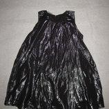 5-6 лет-платье или 8-9 лет-туника, нарядная и блестящая