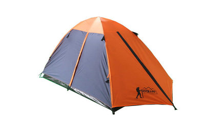 Палатка туристическая трехместная с тентом и коридором Tourist 17103 размер 1,8х 1 2 х1,2м