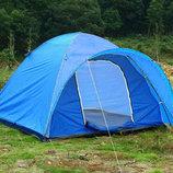 Палатка туристическая пятиместная Gemin 102405 размер 2,4х2,4х1,4м