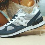 Мужские кроссовки Saucony Shadow серый 41р-45р