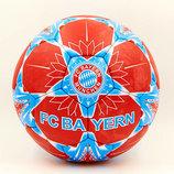 Мяч футбольный 5 гриппи Bayern Munchen 6694 PVC, сшит вручную