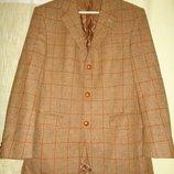 Пиджак блейзер Desch Германия коричневый