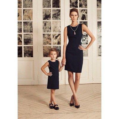 Комплект платьев фемели лук мама дочка разные цвета