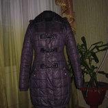 Зимняя куртка пуховик на 14-16 лет подарок