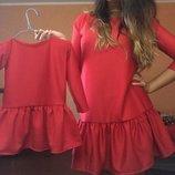 Платья мама дочка комплект фемели лук