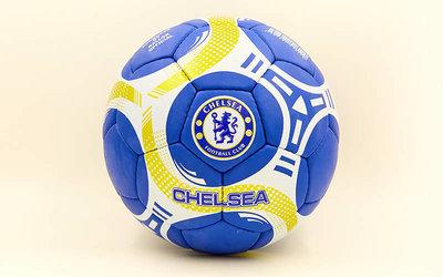 Мяч футбольный 5 гриппи Chelsea 6697 PVC, сшит вручную