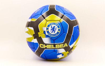 Мяч футбольный 5 гриппи Chelsea 6698 PVC, сшит вручную