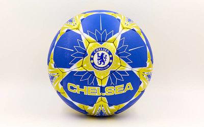 Мяч футбольный 5 гриппи Chelsea 6701 PVC, сшит вручную