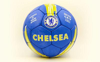 Мяч футбольный 5 гриппи Chelsea 6712 PVC, сшит вручную