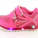 Детские кроссовки с подсветкой F615-5с