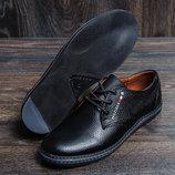Мужские кожаные туфли Tom д 7
