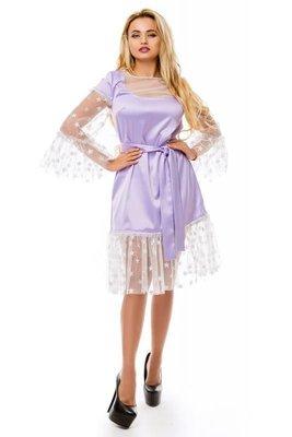 c309c768a19 платье Zuhvala. Лиловое Сеточка звёзды блёстки люрекс  2100 грн ...