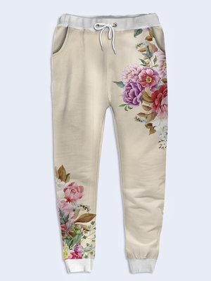 Женские брюки 3D Разнотравье Большой выбор