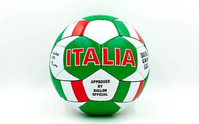 Мяч футбольный 5 гриппи Italia 0047-140 PVC, сшит вручную