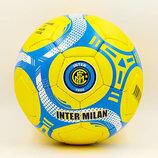 Мяч футбольный 5 гриппи Inter Milan 6680 PVC, сшит вручную