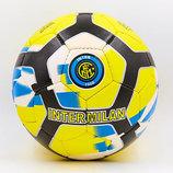 Мяч футбольный 5 гриппи Inter Milan 6681 PVC, сшит вручную