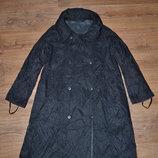 Р. M/38/10 Dunnu. Пальто женское, пальто двухстороннее, пальто для беременных. фирменное.