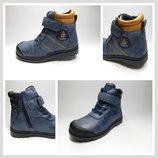 Ботинки для мальчиков, р.22 - 25 Видеообзор
