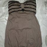 Платье летнее, носится от груди