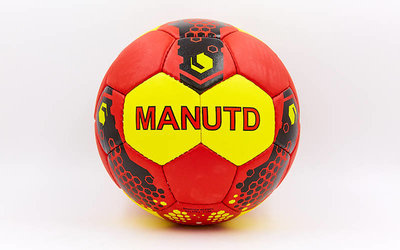 Мяч футбольный 5 гриппи Manchester 0047-5101 PVC, сшит вручную